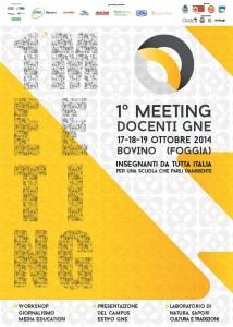 1° meeting nazionale docenti gNe