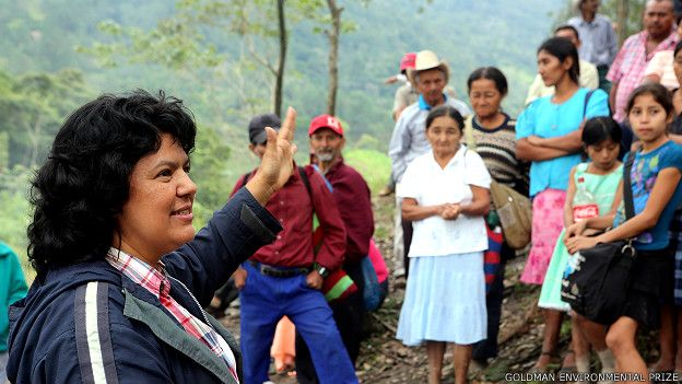 Addio a Berta Càceres, una martire dell'ambiente
