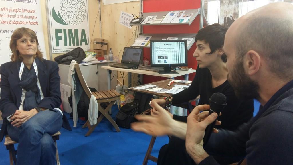 Adriana Sferra al Salone del libro 2016