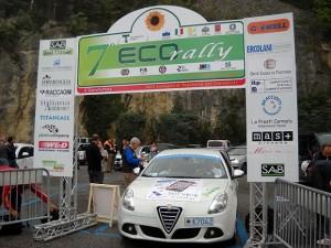 7 Ecorally La partenza