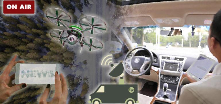 Gli strumenti del giornalista ambientale del futuro? Droni, sensori e Intelligenza Artificiale